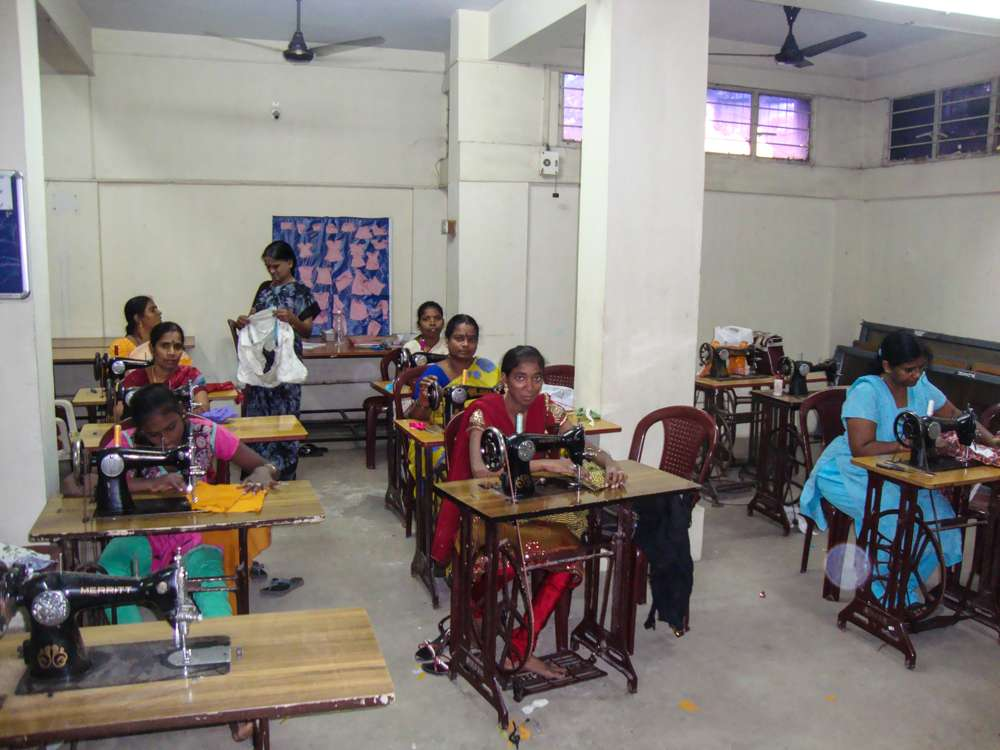 Tamil-Nadu-FoundationTailoring-unit-at-TNF-center