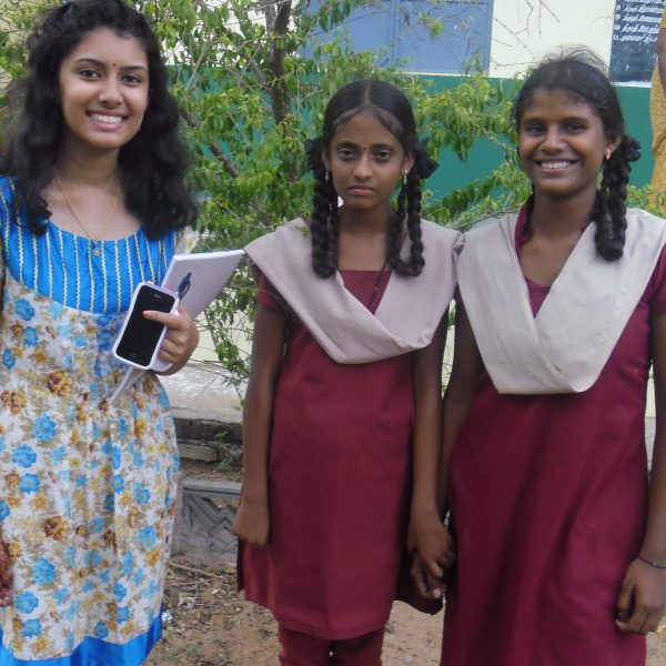 Anu Suppiah at Kalapur Girls High School Summer 2014